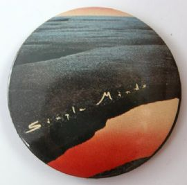 Simple Minds 'Life in a Day' 56mm Badge